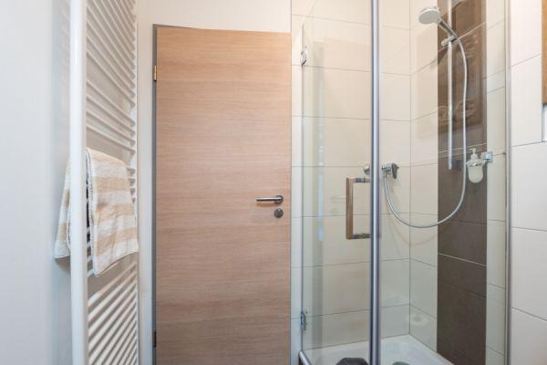 Badezimmer im Apartment Pader