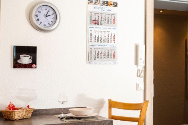 Essecke im Apartment Pader
